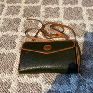 Vintage Dooney & Bourke wallet on string